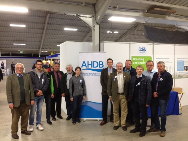 Delegates & Hosts on the AHDB stand at Beef Expo