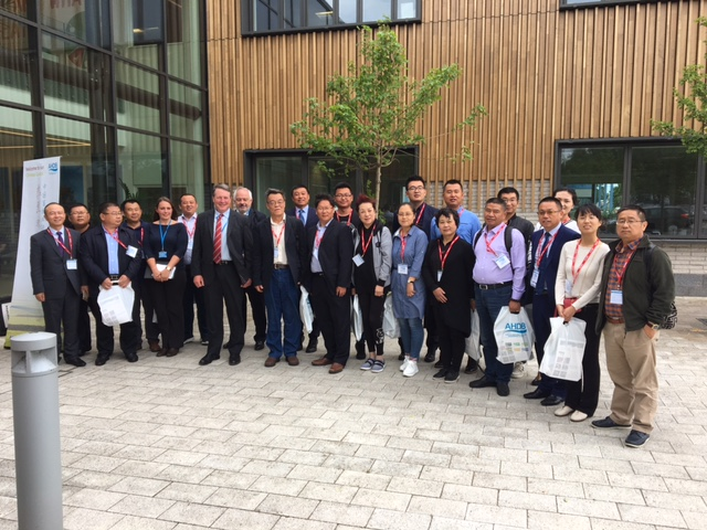 Chinese Delegation pictured outside AHDB HQ, Stoneleigh Park, Warks
