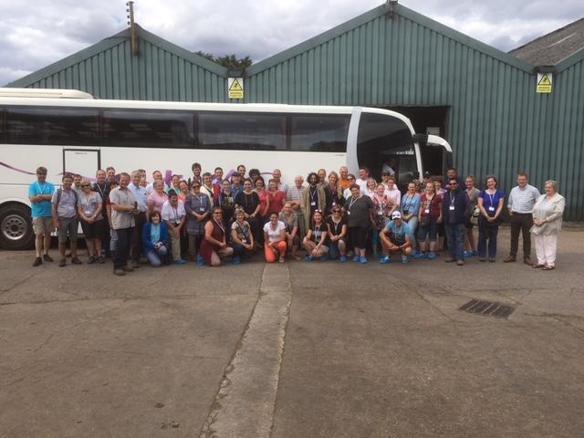 Farm Tour Delegates