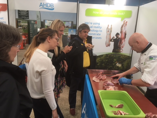 Pictured with AHDB Butcher Martin Eccles