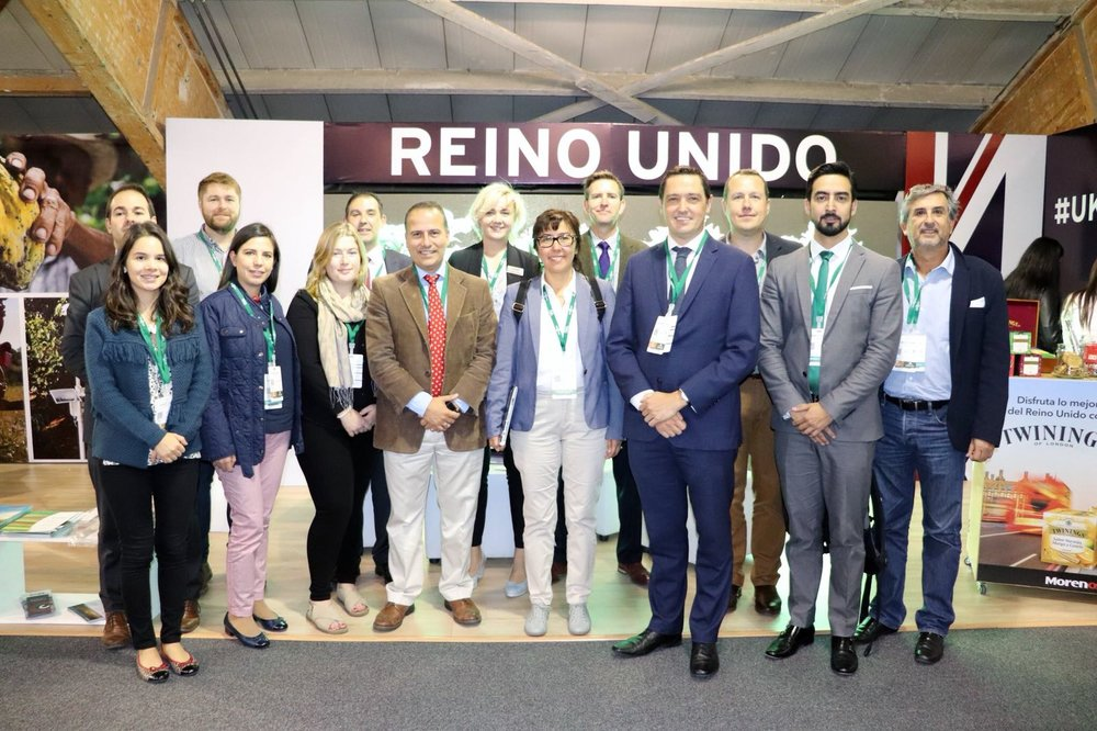 UK-Colombia Team at Agro Futuro