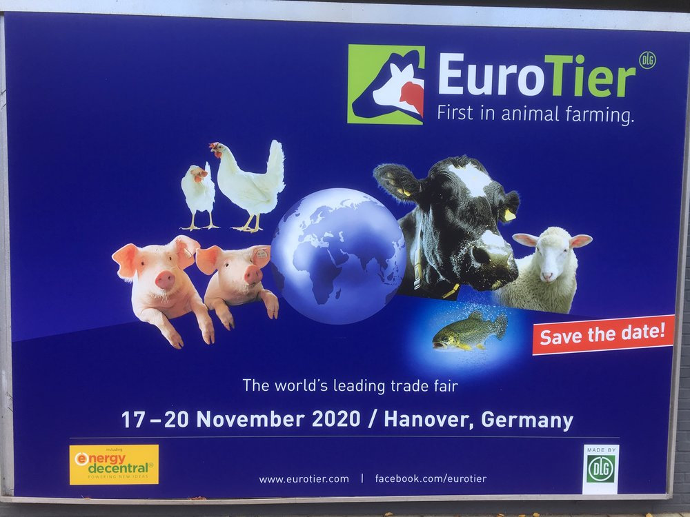 Save the date - EuroTier 2020 17-20 November