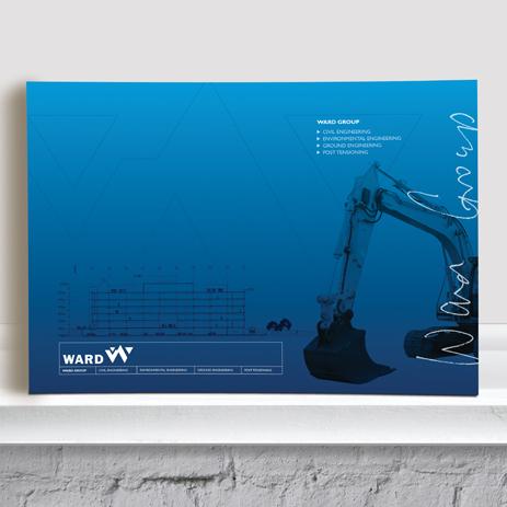 Ward Engineering: company brochure (for Equation studio)