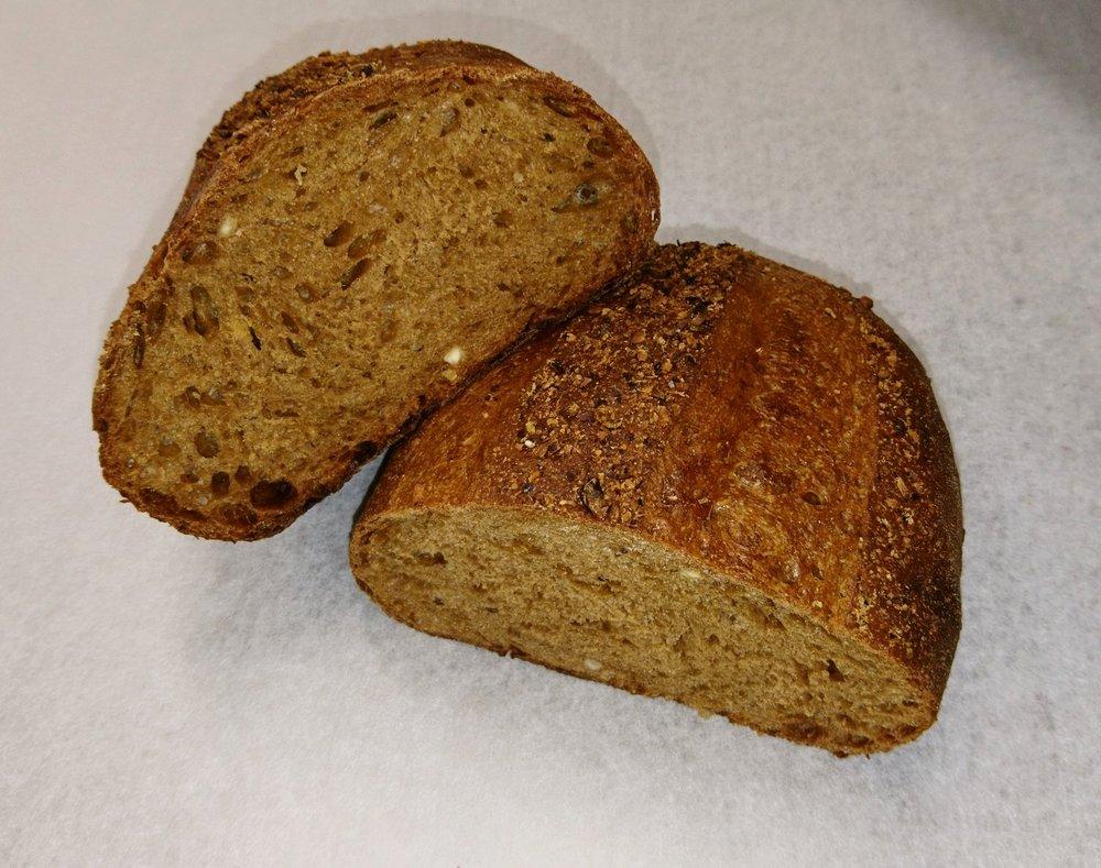 pain malté aux noisettes