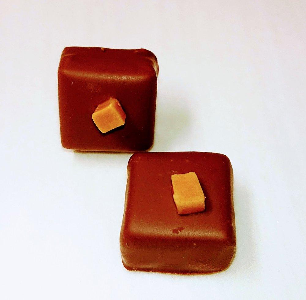ganache caramel