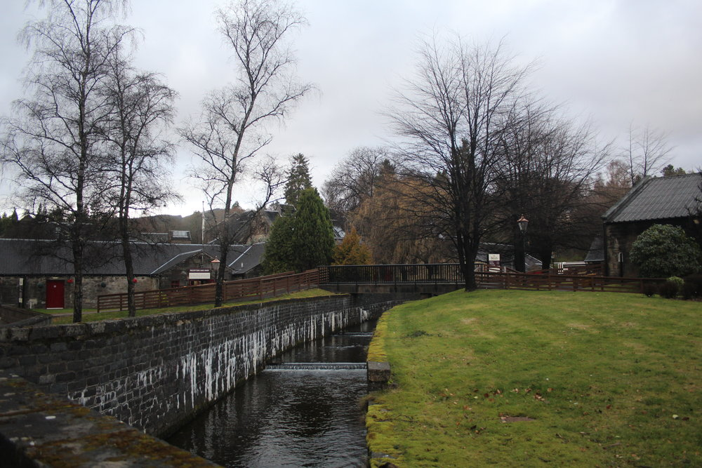 Blair Athol Whisky Distillery at Pitlochry