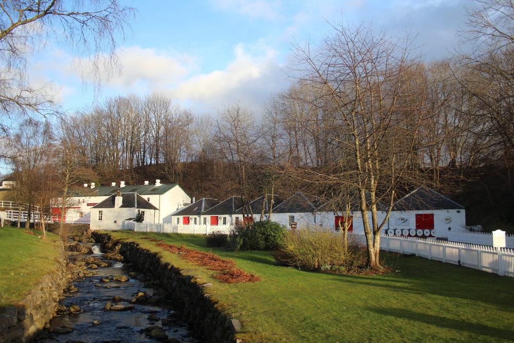 Edradour Whisky Distillery
