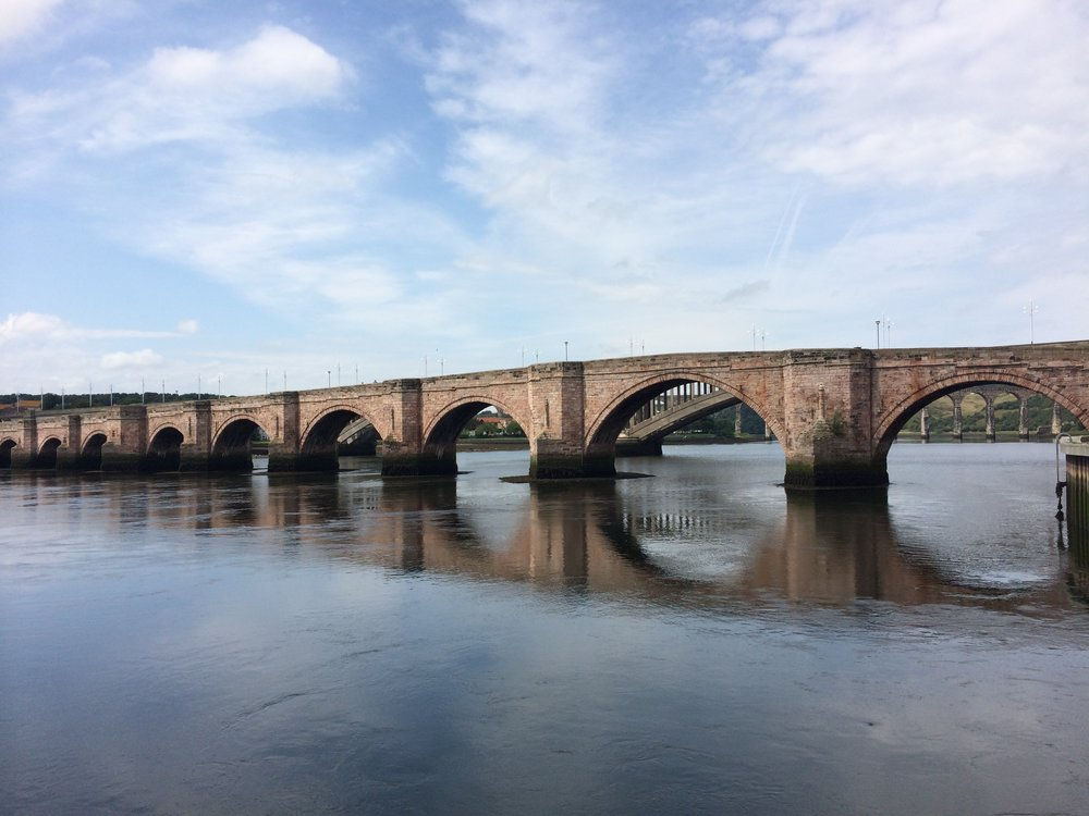 The bridges at Berwick-upon-Tweed