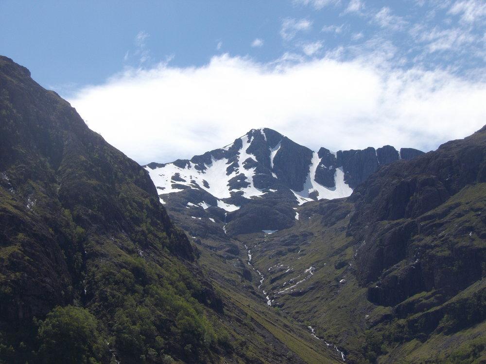 Beautiful and spectacular Scottish scenery