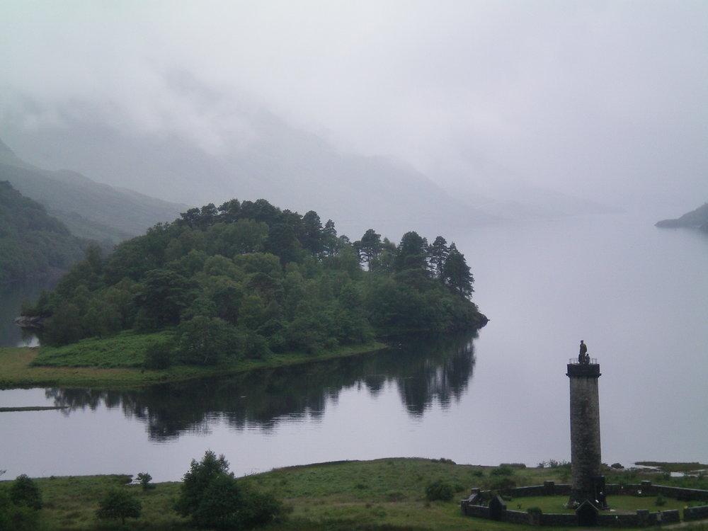 An Atmospheric Glenfinnan Monument