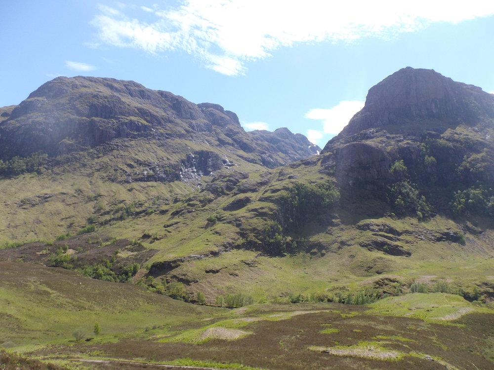 Scotland's stunning scenery - Glen Coe
