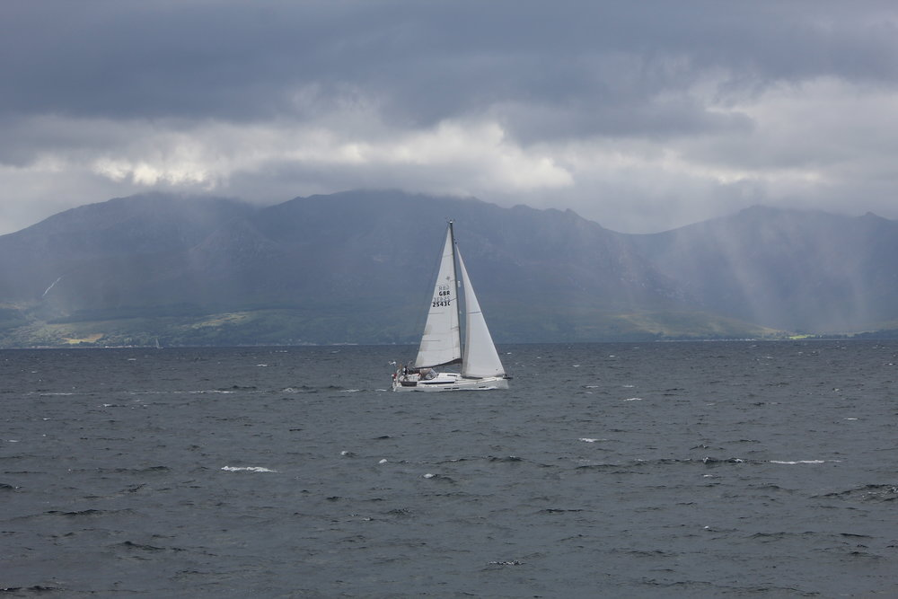 The Isle of Arran from Ayrshire