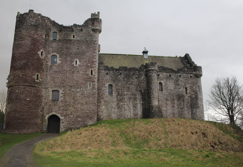 Doune Castle, Castle Leoch in the series