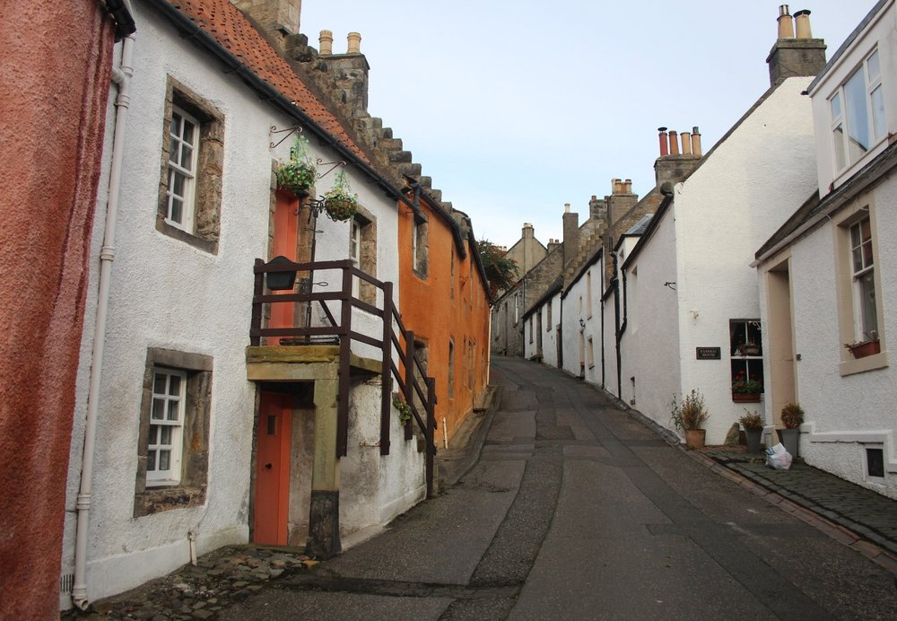 The village of Culross, Cranesmuir in the series