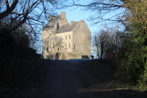 The approach to Lallybroch, home the Jamie's family