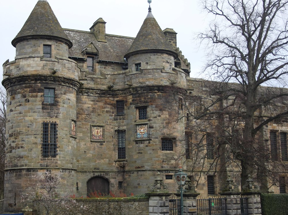 The majestic Falkland Palace