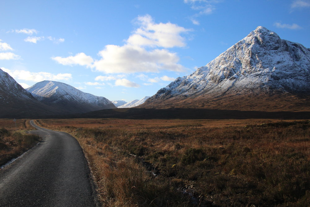 Just one of the many stops at Glen Coe