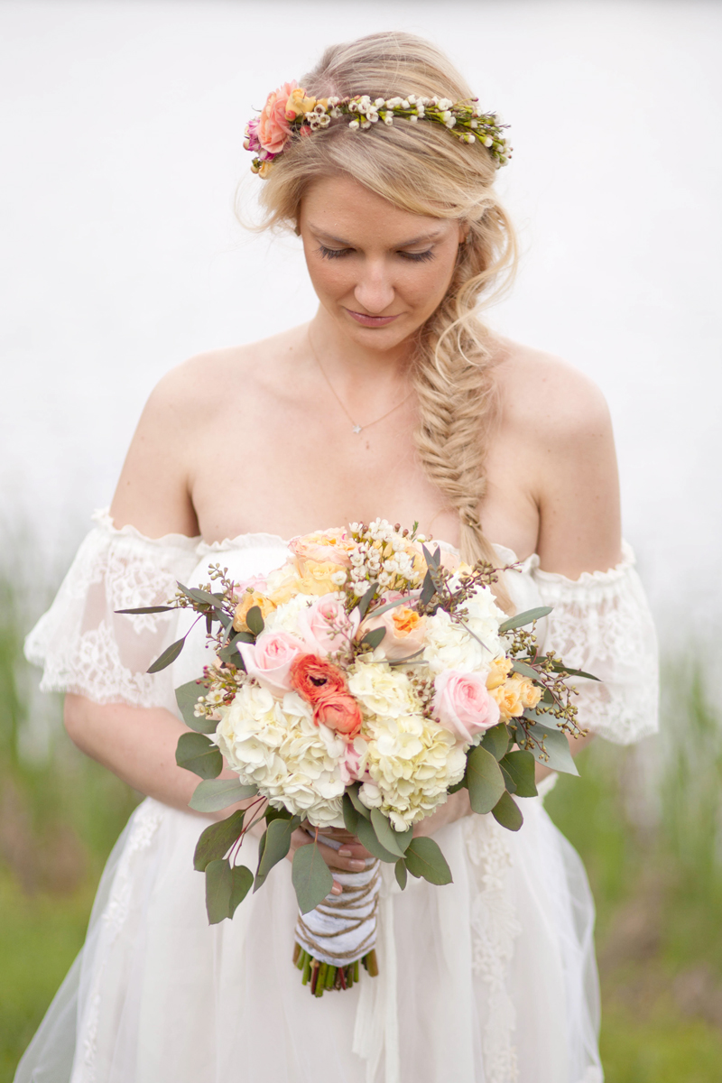 crown and bouquet: l eslie lee floral design
