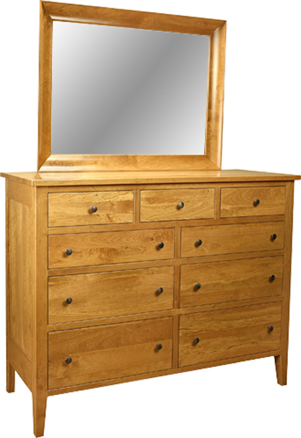 CS-1657 Tall Dresser with MI-563 Mirror.jpg