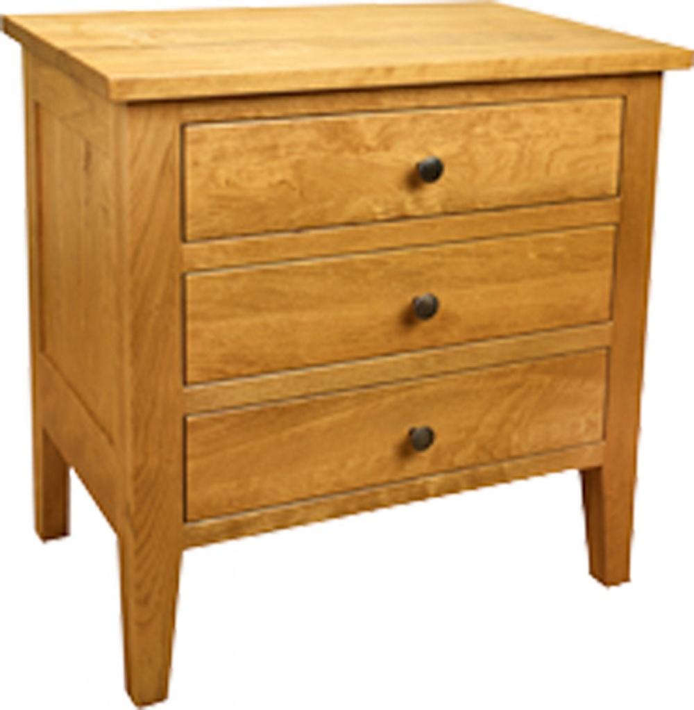 Chelsea 3 Drawer Nightstand