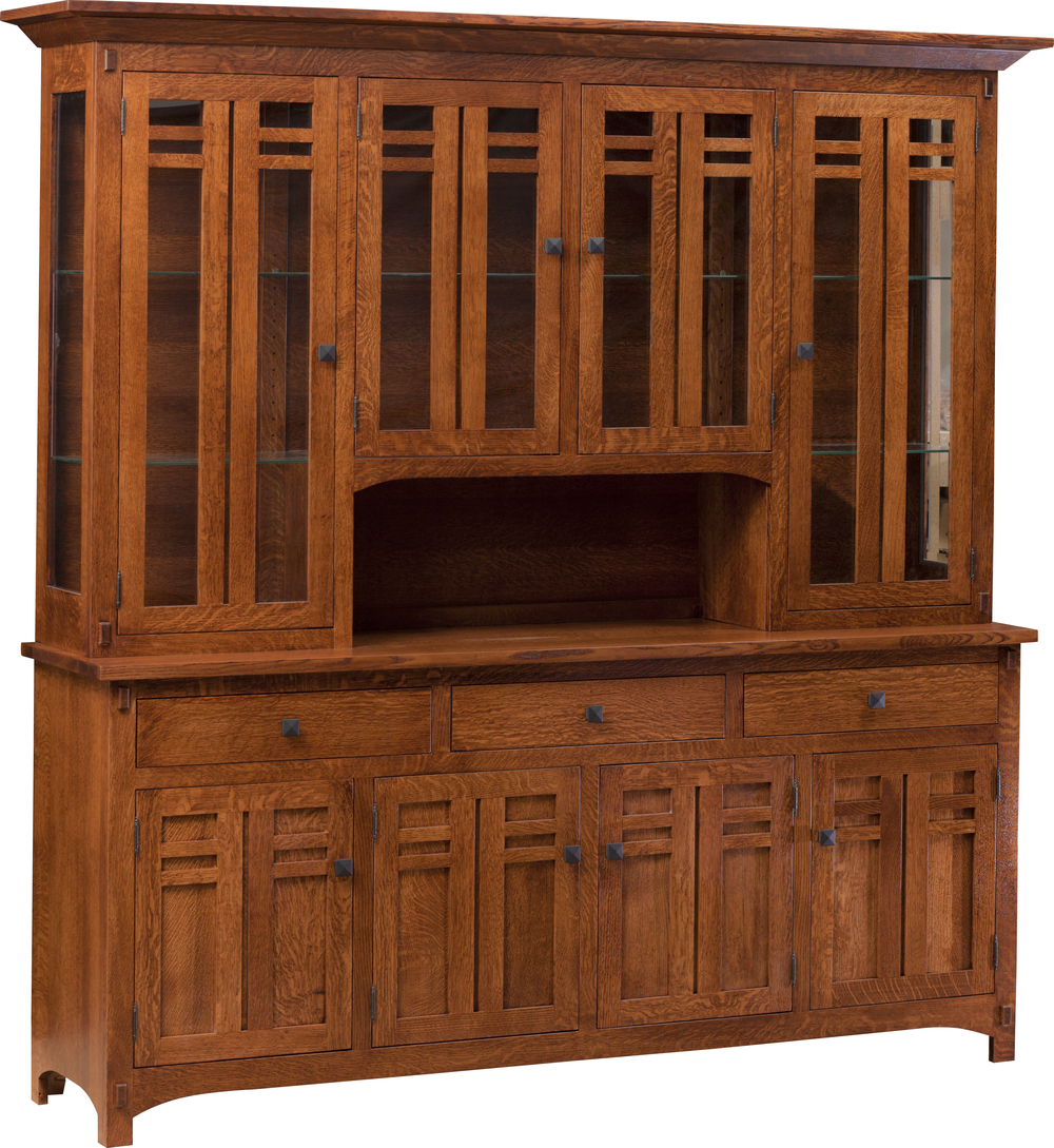 Bungalow 4 door hutch