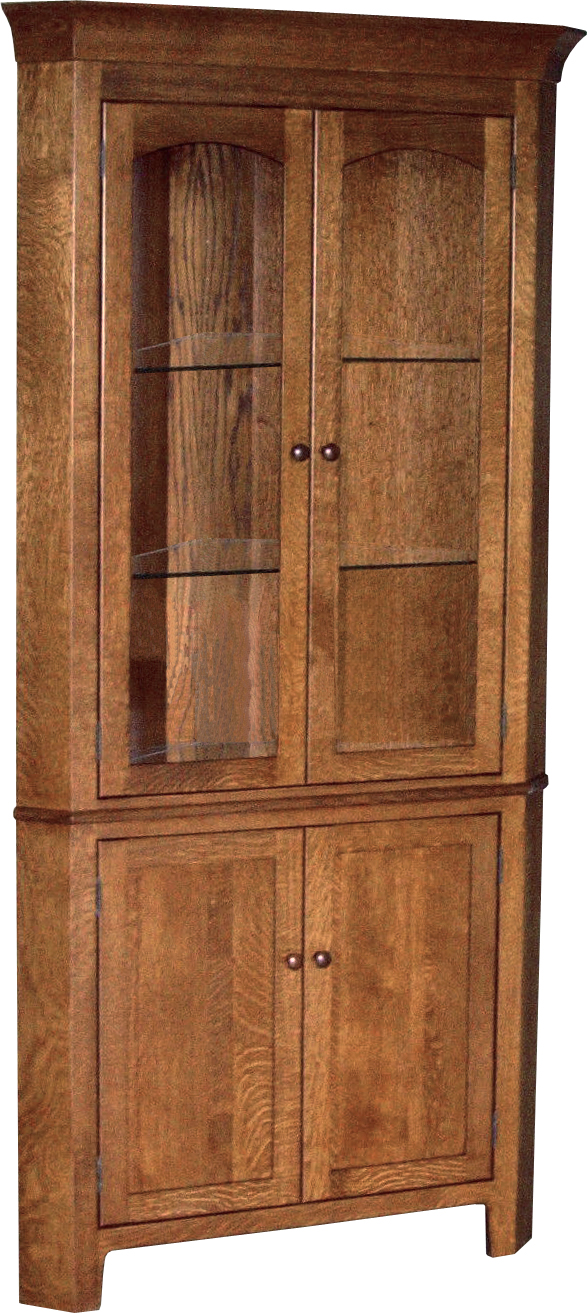 "Cambridge 28"" Corner Hutch"