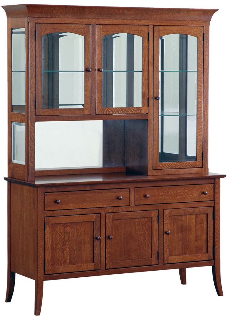 Cambridge 3 Door Hutch