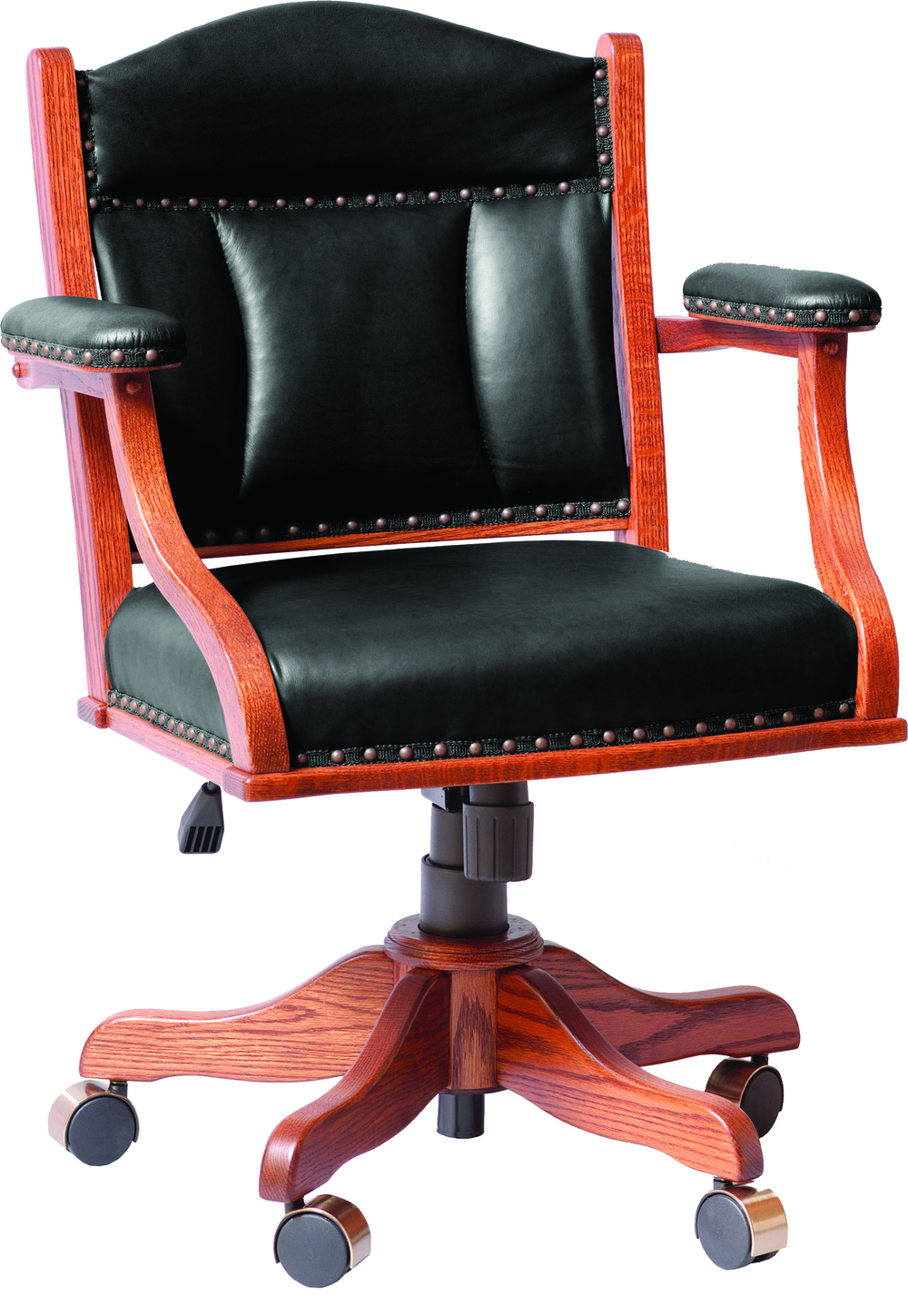 Low Back Desk Chair with gas lift