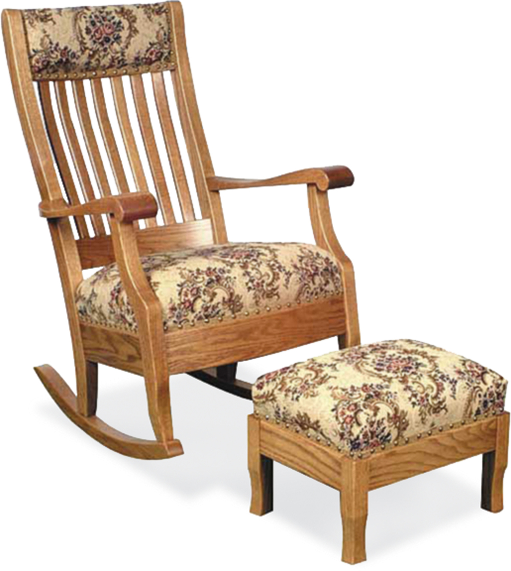 Grandma's Rocker with footstool