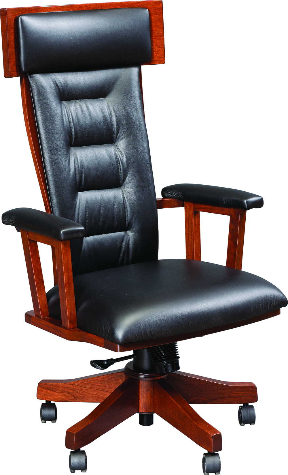 London Desk Chair with gas lift