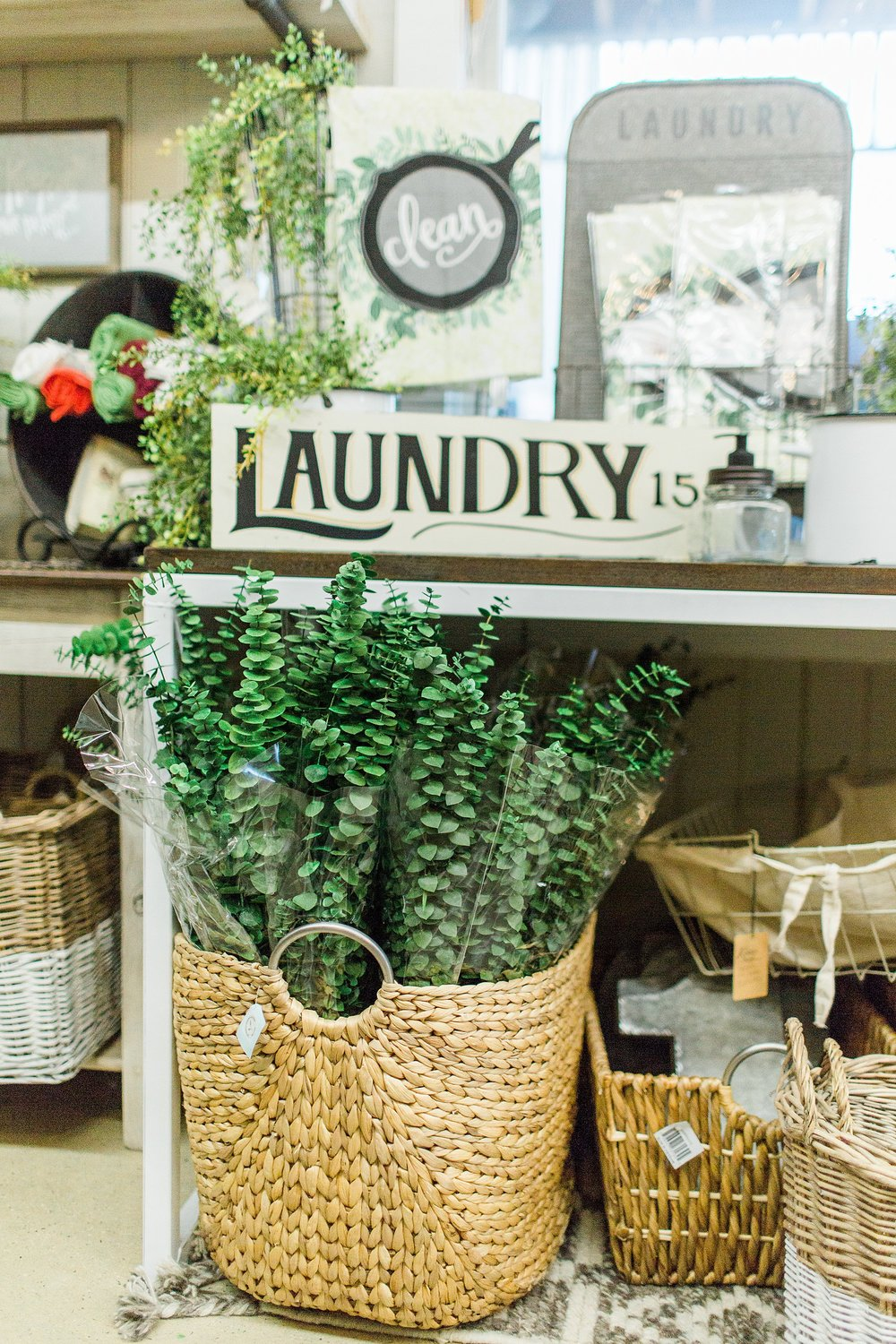 Did you know the Homestead stocked three kinds of real eucalyptus this year? Also real dried lavender!