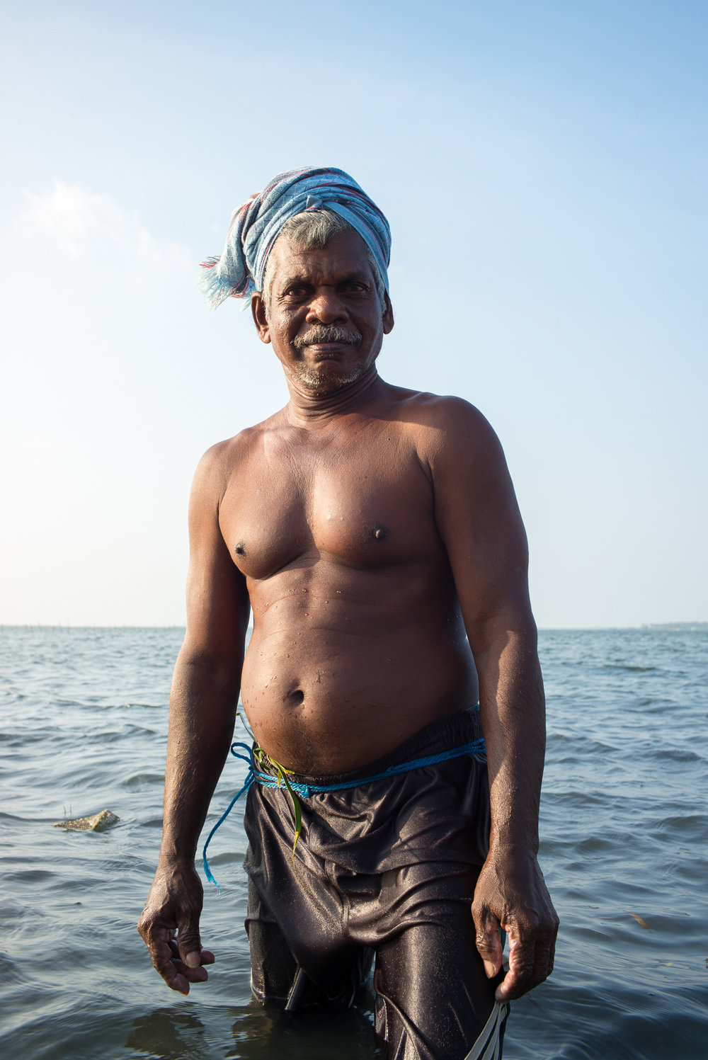 Fisherman, Jaffna, Northern Province