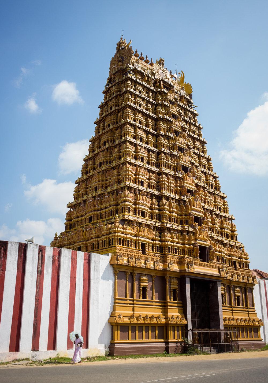 Nallur Kandaswamy temple, Jaffna, Northern Province