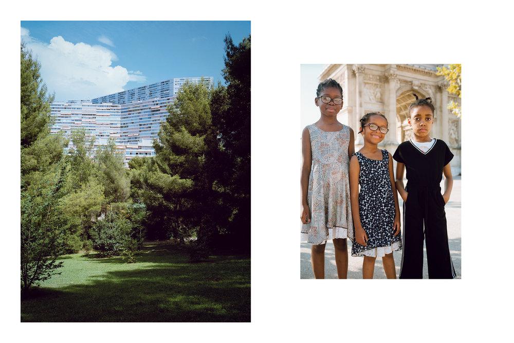 Naïma, 7, Djoueria, 6 & Abkaria, 8
