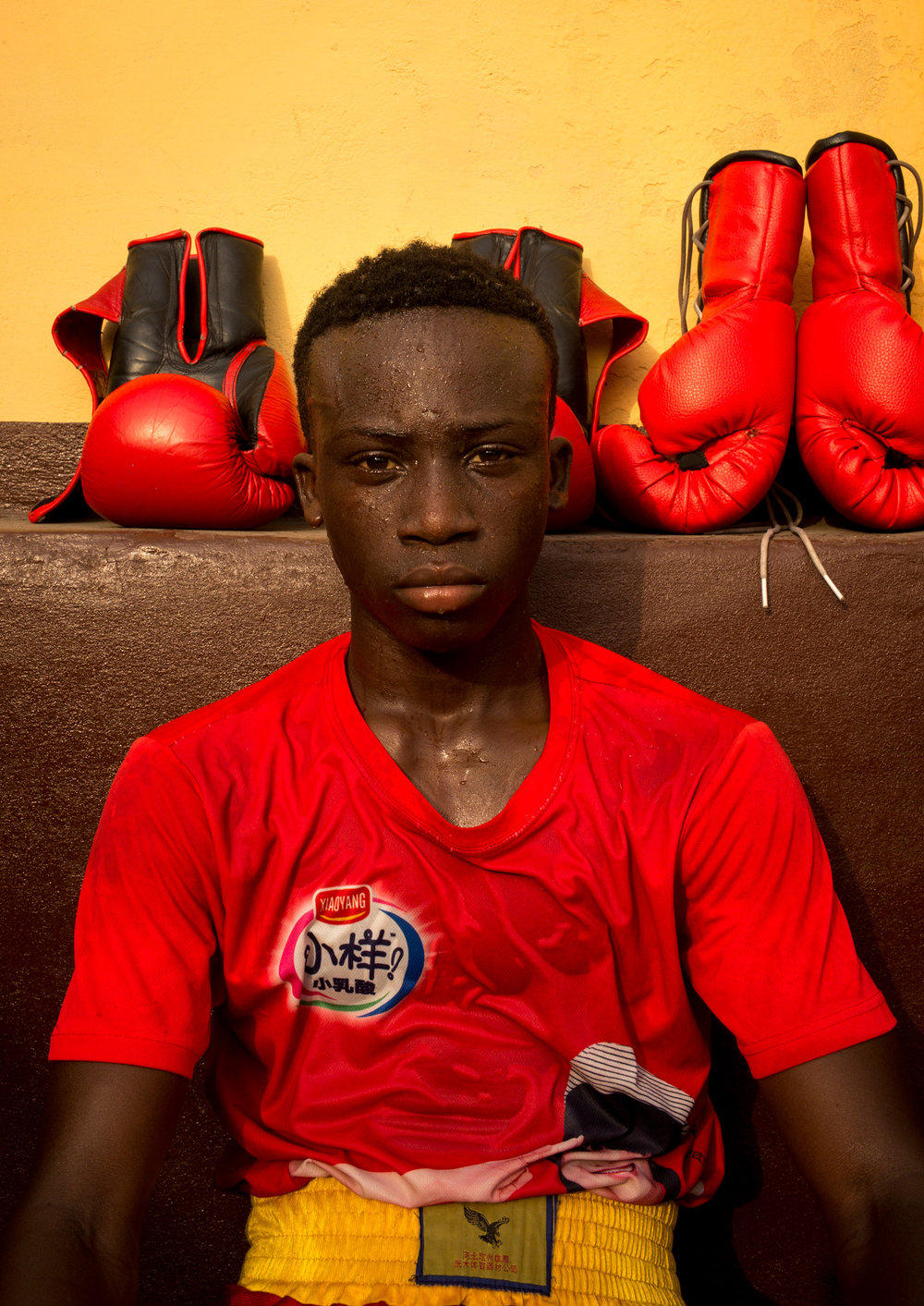 Samuel Takgi, 17, will be part of the few athletes to represent Ghana at the 2020 Olympics held in Tokyo - Discipline Boxing Academy, James Town