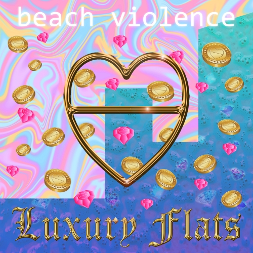 Luxury Flats EP cover art / Hannah Abbo