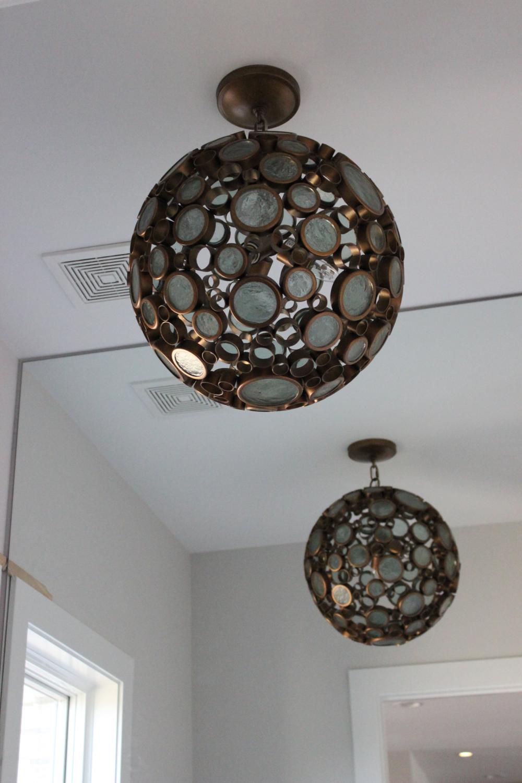 Custom 1 Story Home In Mason - Custom Lighting