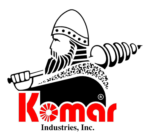 Komar Industries Augers and Shredders - environmentally-friendly waste processing equipment and materials processing solutions