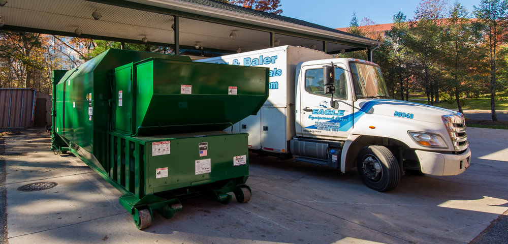 Trash compactor repair and preventative maintenance