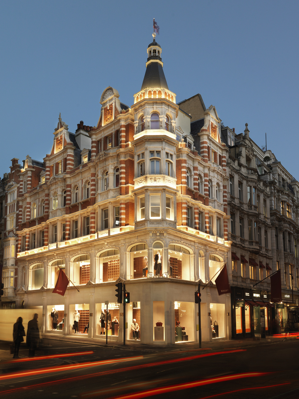 Bally Flagship store,          London