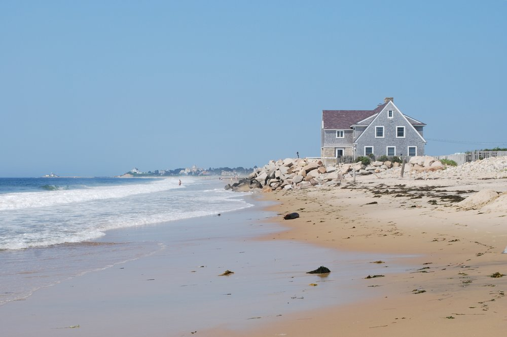 - The South Carolina Beach Front Management Act created a rolling easement that allows for natural upland migration. Property owners are allowed to build,  but prohibited from armoring the shoreline, and are required to relocate or demolish buildings when the lot becomes submerged during high tide.
