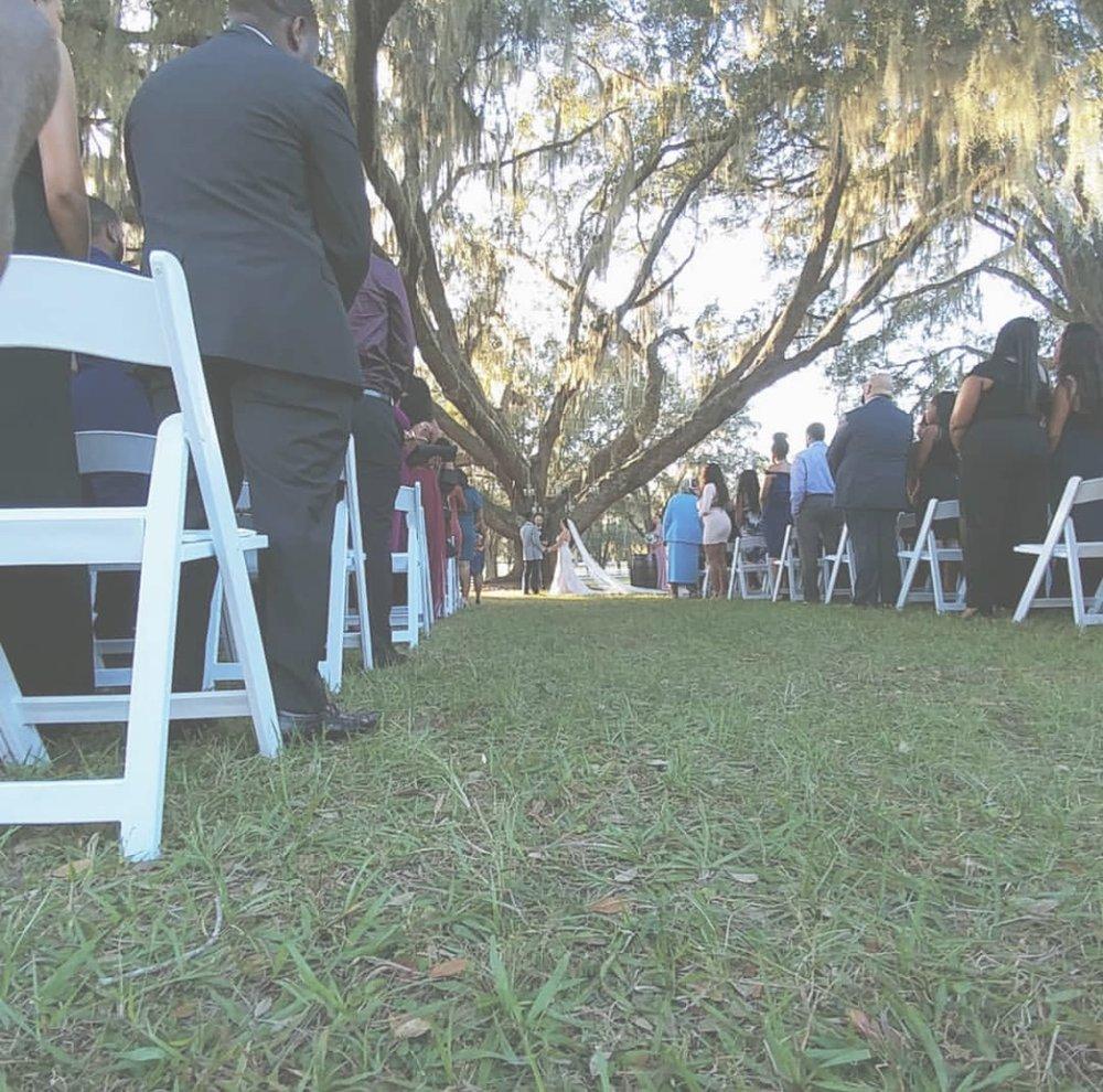 Photo by wedding hosts, @ GoodKnockingEntertainmentGroup