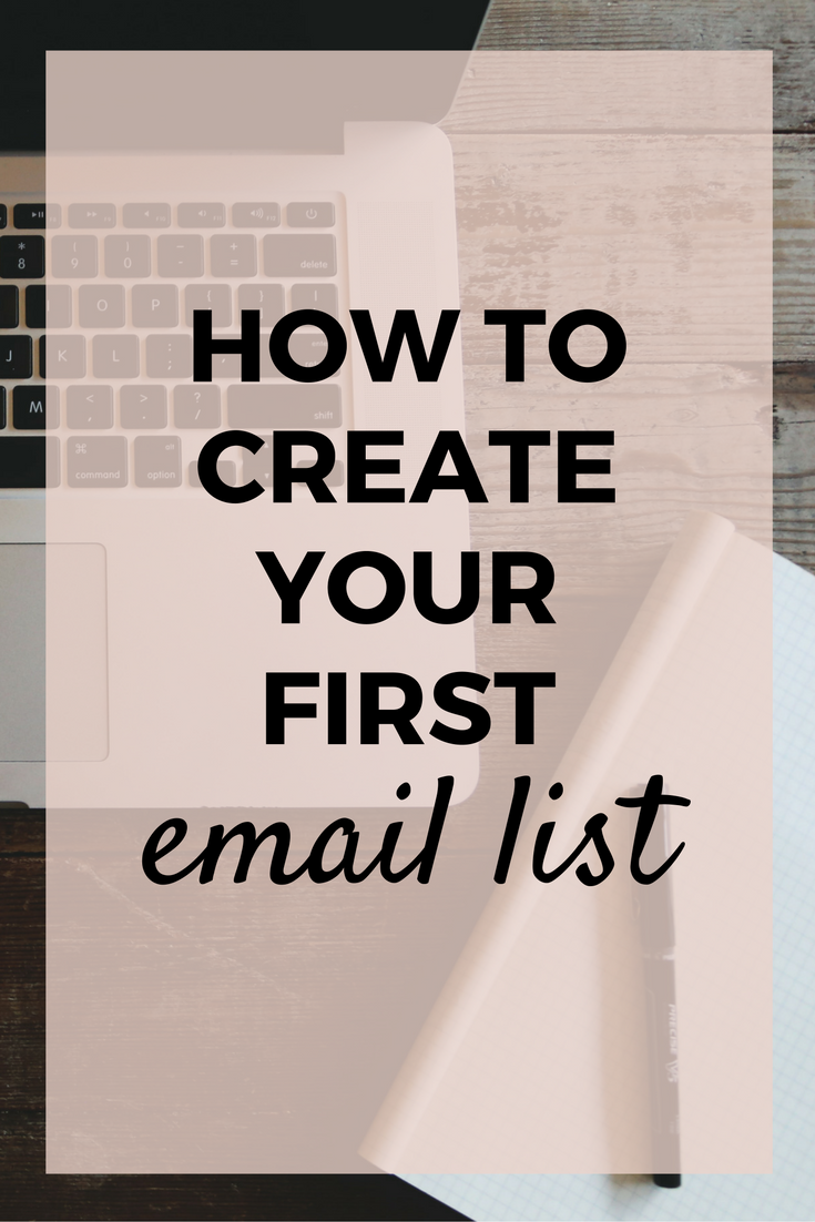Email list, start email list, email marketing, why starting an email list, how create your first free offer