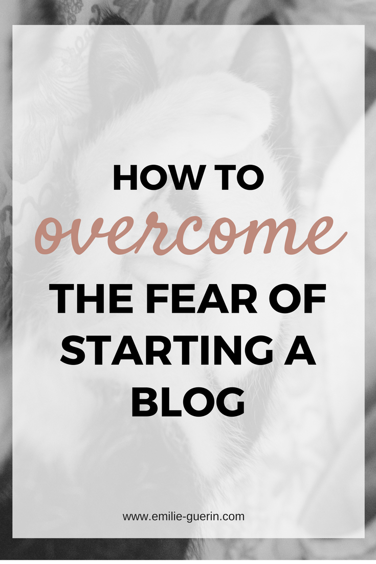 blog tips, start a blog, overcome fear, goal setting, blogger start-up,