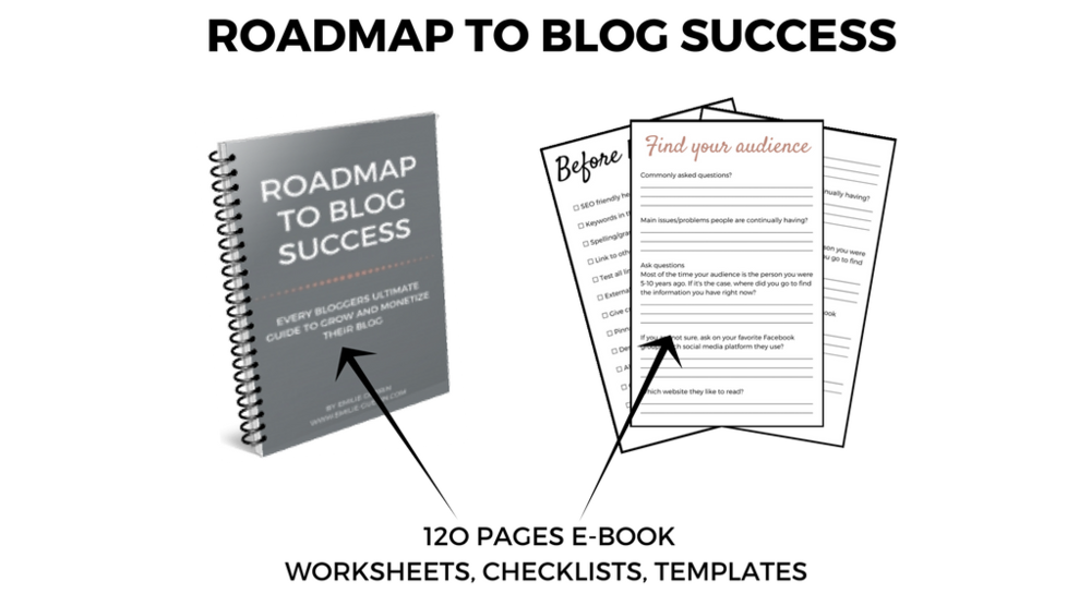 Roadmap to blog success