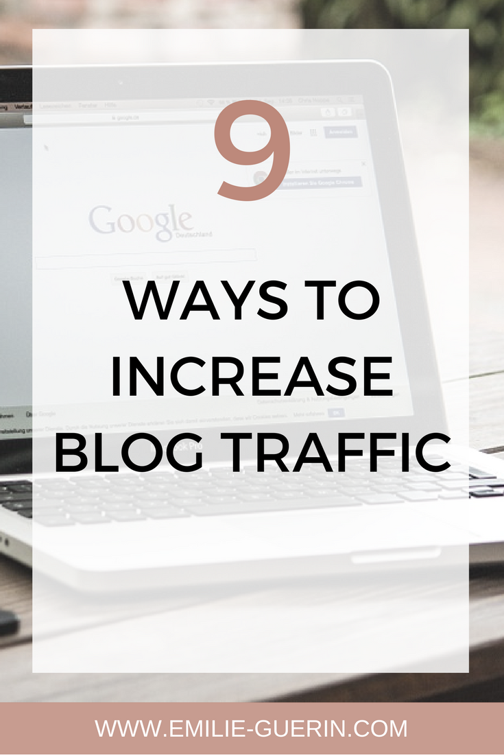 Increase blog traffic, monetize your blog, grow your audience, blog tips