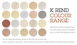 K Rend Colour Range