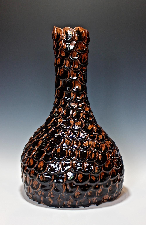 Jarica Walsh | Elongate (2016) | Stoneware and glaze | 24x12x10