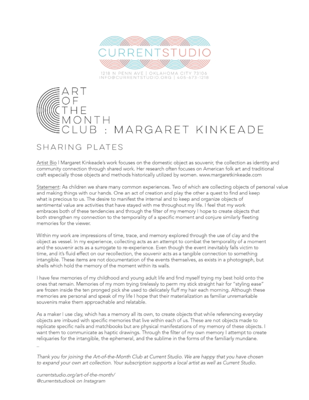 art of the month artist sheet - margaret kinkeade.jpg