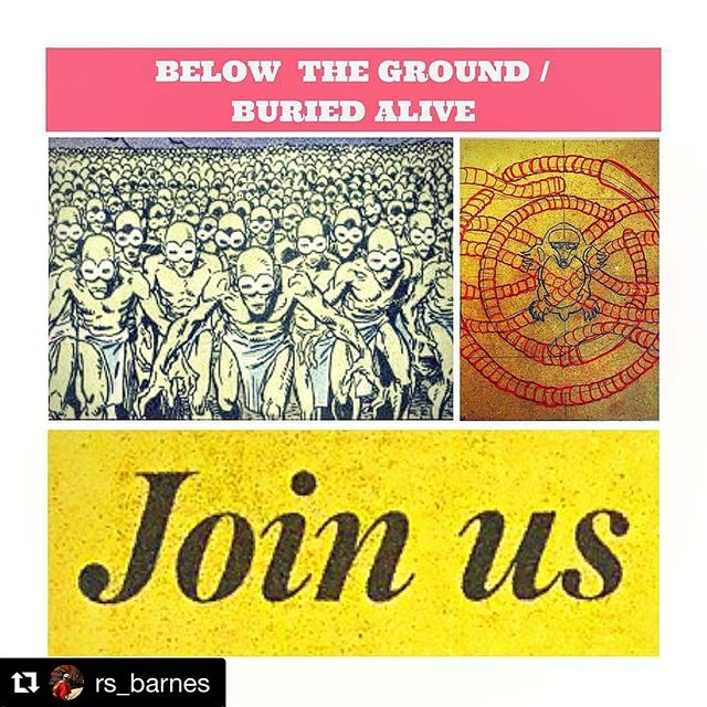 We are stoked to have @rs_barnes making art for our Art of the Month Club subscribers! Join now to get a piece of Randall's art in January. ・・・ #Repost @rs_barnes ・・・ I'm making new art!!! Join the Art of the Month Club @currentstudiook to get a first look. Link in Bio. #moleking #redshirtcollective #katabasis #underground #buriedalive #molemenrecords #moloids #currentstudio #okcart #oklahomaartist #woodcutpainting